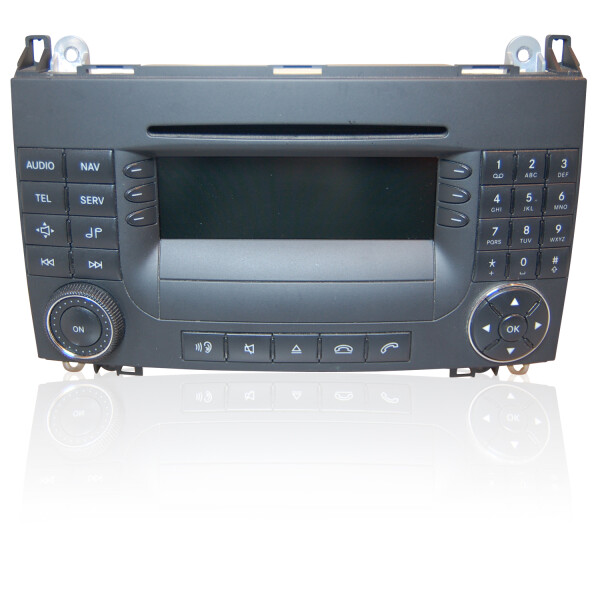 Mercedes SLK R171 Audio 50 APS Display defekt